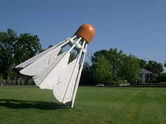 AOL Image Search result for Claes Oldenburg-Shuttlecock