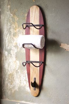 surfboard towel rack  $129.00