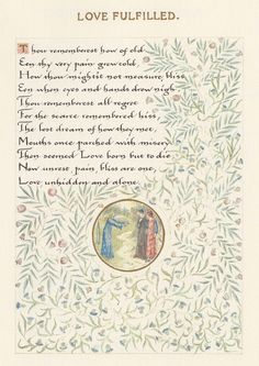 A Book of Verse by William Morris   Page 12. By William Morris.  https://flic.kr/p/cPeLTo  