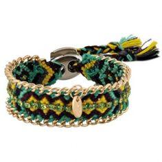 Friendship bracelet groen #ohsohip