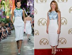 Claire Danes In Christian Dior –  2014 Producers Guild Awards