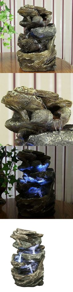 Indoor fountains 20569 water fountains level flowing indoor indoor fountains 20569 water fountains level flowing indoor tabletop fountain with led light new buy it now only 3328 on ebay workwithnaturefo