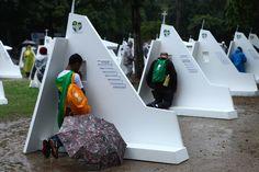 Modern + Minimalistic Confession Booth on the go!   WYD 2013 RIO