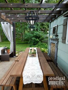 Patio Dining Table w