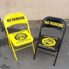 No parking chairs?