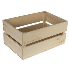 Rustic Crates   Walnut Hollow - Craft Rustic Crate, Large $ 13.99
