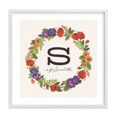 My Name Art {15 Sources for Personalized Name Art Products}
