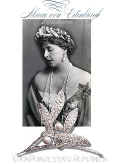 Royal Jewels of Queen Marie of Romania Royal Jewelry, Luxury Jewelry, Silver Jewelry, Norway Clothes, Edinburgh, Hair Jewelry, Women Jewelry, Jewellery, Diamond Hair