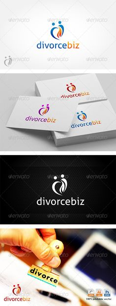 Creative Idea Logo Logo Templates Pinterest Ideas, Logos and - divorce templates