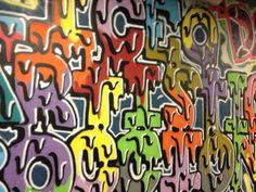 Murales Sottopasso Stazione Garibaldi Milano (Photo by M.Grazia Manera) 09/2012