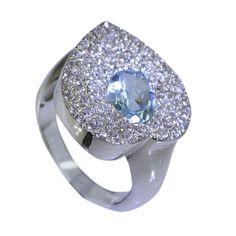 silver Ring 925 Amethyst Ring Gemstone Ring 925 Filigree Ring Amethyst Ring  Engagement Ring by RiyoGems