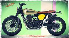 SWM # SPECIAL SCRAMBLER # 440 # NEW MOTORCYCLES # SPECIAL PROJECT SCRAMBLER # ITALIAN DESIGNER