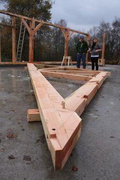 Carpentry | Oak Timber Framing | Castle Ring Oak Frame