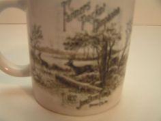 "JOHN DEERE ""FARMERS POCKET COMPANION"" COLLECTIBLE COFFEE/TEA MUG/CUP BY GIBSON…"