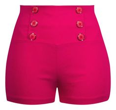 These pin up inspired retro style shorts feature our stretch bengaline fabrication. Pair these with one of our cute crop tops and you have the perfect pin up inspired outfit. These shorts run very fit Pin Up Outfits, Short Outfits, Cool Outfits, Summer Outfits, Fashion Outfits, Rockabilly Outfits, Retro Outfits, Rockabilly Clothing, Retro Clothing