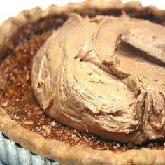 Double Chocolate, Salted Peanut Caramel, Peanut Butter Mousse Tart