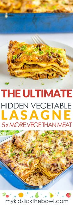 Ultimate hidden vegetable lasagne
