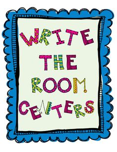 Flying into First Grade: Write the Room Beginning Sounds Center