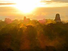 Majestuosa Ciudad de Tikal en Peten.