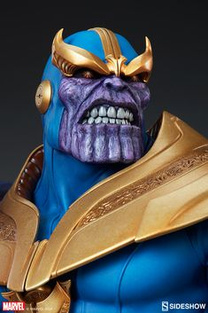 Marvel Thanos Bust by Sideshow Collectibles Star Wars Boba Fett, Star Wars Clone Wars, Star Wars Art, Star Trek, Marvel Art, Marvel Movies, Galactus Marvel, Marvel Tattoos, Star Character