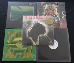 Online veilinghuis Catawiki: Reggae / Dub / Dancehall / Hip Hop: Nice batch of 3 albums (4LP's) and 2x 12inch single, including 1x limited edition on coloured vinyl! * Buju Banton / DJ Krush / Material / Peaking Lights / Lee Perry *