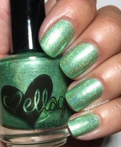 My Nail Polish Obsession: ellagee Absinthe Makes the Heart Grow Fonder