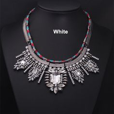 Luxury Bling crystal Statement Necklace by Attractivenecklace, $16.00
