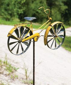 Look at this Vintage Cruiser Kinetic Garden Stake on #zulily today!