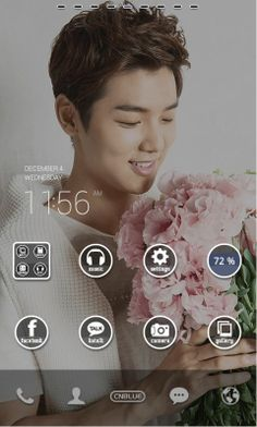 CNBLUE phone decor by dodol launcher.
