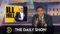 Hillary Clinton's Rough Weekend - The Daily Show with Trevor Noah (Video Clip) Hillary Clinton Campaign, Last Week Tonight, Donald Trump Supporters, Trevor Noah, Jimmy Kimmel Live, The Daily Show, Comedy Central, Marketing, Viral Videos