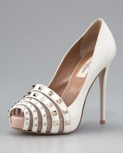 LOVE these.  If I were going to wear white shoes for the wedding, Id wear these for sure.