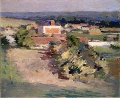 The Red House by Theodore Robinson