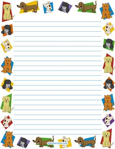 Dog Stationery and Writing Paper