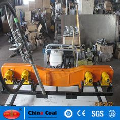 chinacoal03 ND-4.2*2 Internal combustion rail soft shaft tamping machine rail tamper ND4.2*4 type internal combustion soft shaft tamping machine is applicable to any rail typ line maintenance ballast tamping operation. Its characteristic is the light weight, easy to operate. Tamping are of good quality and low failure rate and easy maintenance, road speed, applicability, not only to tamping line, still can tamping switch, price performance ratio is high, very suitable for railway ballast tam