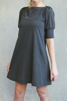 folded swing dress