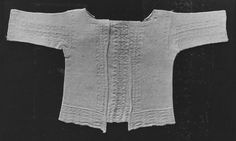 V   Place of origin:  England, Great Britain (made)    Date:  17th century (made)    Artist/Maker:  unknown (production)    Materials and Techniques:  Hand knitted cotton    Credit Line:  Given by Joan D. Parkes    Museum number:  T.30-1932