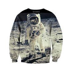 Moon Man Sweatshirt #MensFashionEdgy