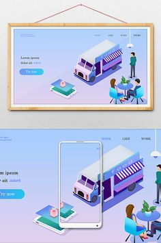 Gradient color casual men and women waiting for food delivery Food Template, Templates, Gradient Color, Men And Women, Waiting, Men Casual, Delivery, Illustration, Free
