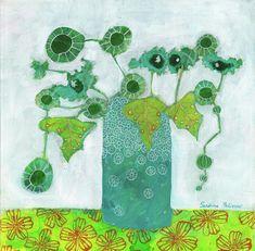 Flower Painting - In Whistler by Sandrine Pelissier