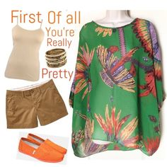 Top Pretty in green.. Enjoy this gently worn top this summer.. Excellent condition.. No flaws nor stains..fits sizes 6-12 Tops Blouses