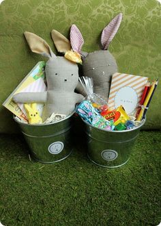 sweet easter baskets