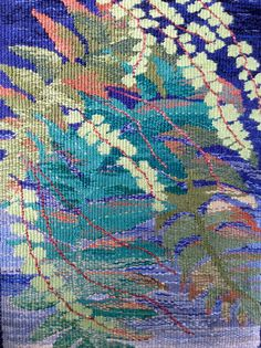Tapestry by Mary Bentley. silk