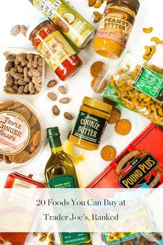 All the Trader Joe's Foods, Ranked