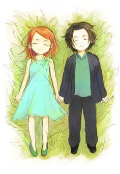 Lilly and Severus, how cute !