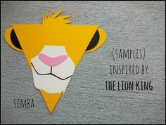 Pick Characters from various Disney movies, cut and make flags for a banner!