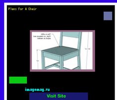 Plans For A Chair 134126 - The Best Image Search