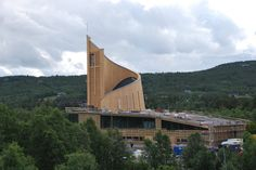 Geilo culture church, built in 2010, Norway