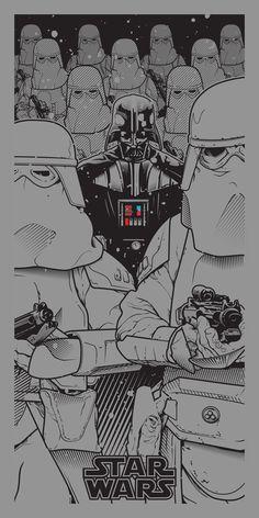 """Star Wars - A Saga Revisited"" by Joshua Budich"
