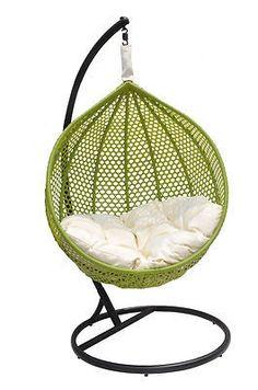 Ravelo – All Seaseon Outdoor Green Swing Chair - Model – PE-03GN