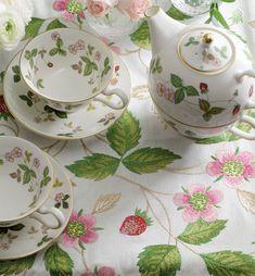 Wedgwood Home, Fabrics by Blendworth: Volume.III Wild Strawberry « Blendworth